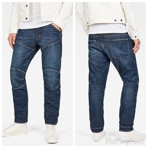 G-Star 5620 Slim Fit Deconstructed Stretch Jeans